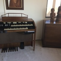 Hammond Spinet Organ and Leslie Speaker